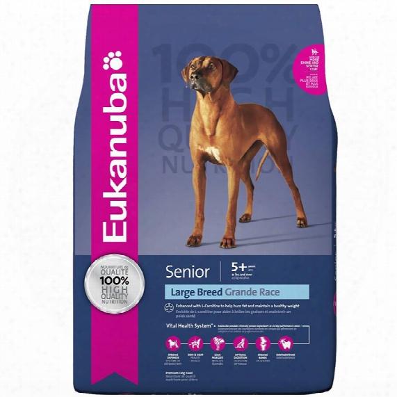 Eukanuba Senior Large Breed Dog Food (30 Lb)