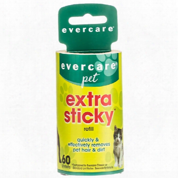 "Evercare Pet Hair Lint Roller Refill 60 Layers (30.1 Ftx4"")"