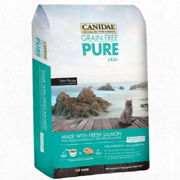 Felidae Grain Free Puresea Cat Food (10 Lb)