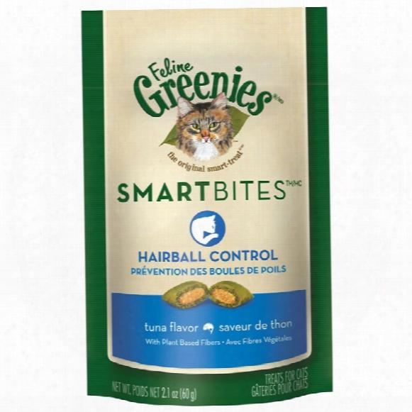 Feline Greenies Smartbites Hairball Control Tuna (2.1 Oz)