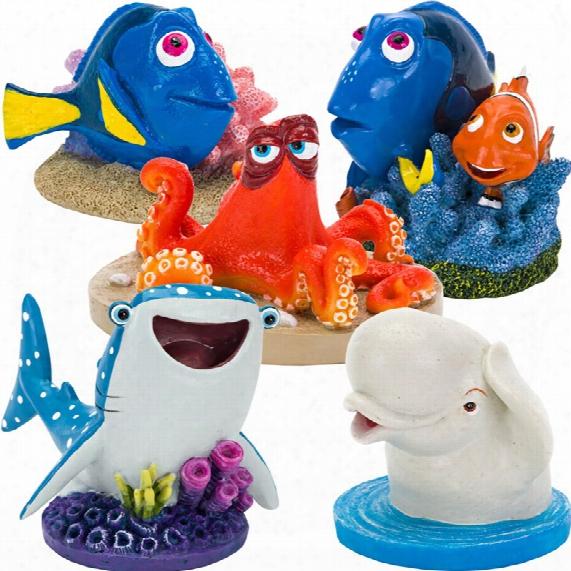 Finding Dory & Friends Aquarium Ornament Set - Mini