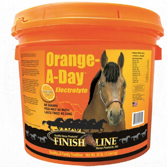 Finish Line Ultra Orange-a-day Electrolyte (15 Lb)