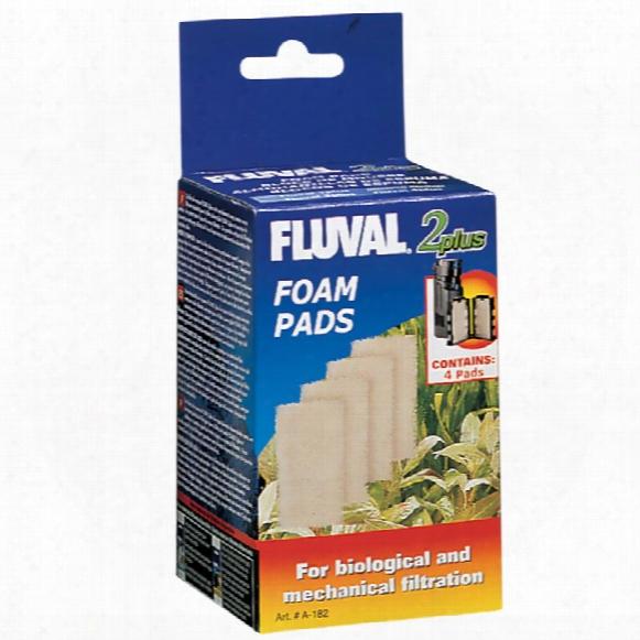 Fluval 2 Plus Foam Insert (4-pack)