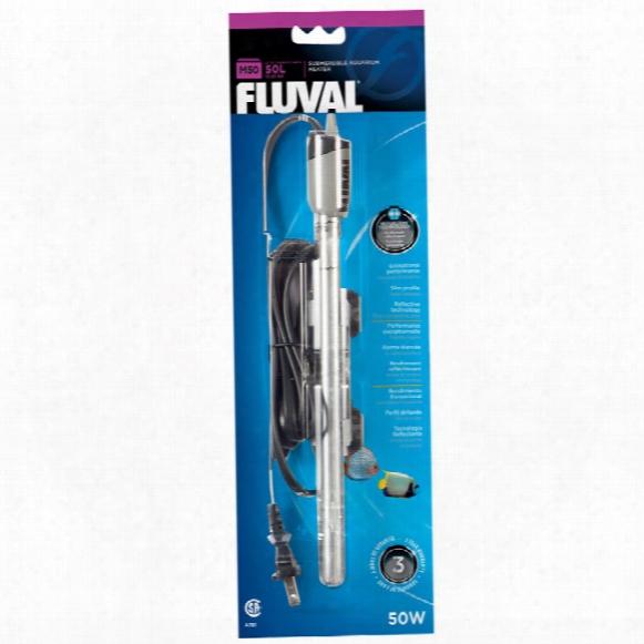 Fluval M50 Submersible Glass Aquarium Heater (50 Watts)