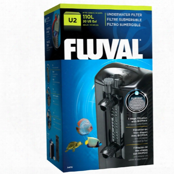 Fluval U2 Underwater Filter (105 Gph)