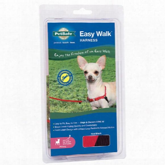 Petsafe Easy Walk Harness - Red/black (petite)