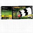 Exo Terra Compact Top Flourescent Terrarium Canopy