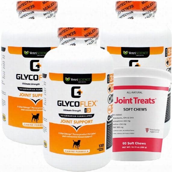 3-pack Glycoflex 3 (360 Tabs)