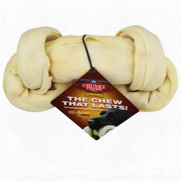 """Chunky Chews Glucosamine Rawhide Bone 9"""""""