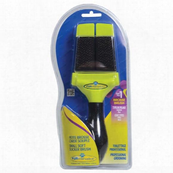 Furminator Soft Slicker Brush - Small