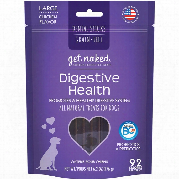 Get Nked Digestive Health Treats For Dogs Large (6.6 Oz)
