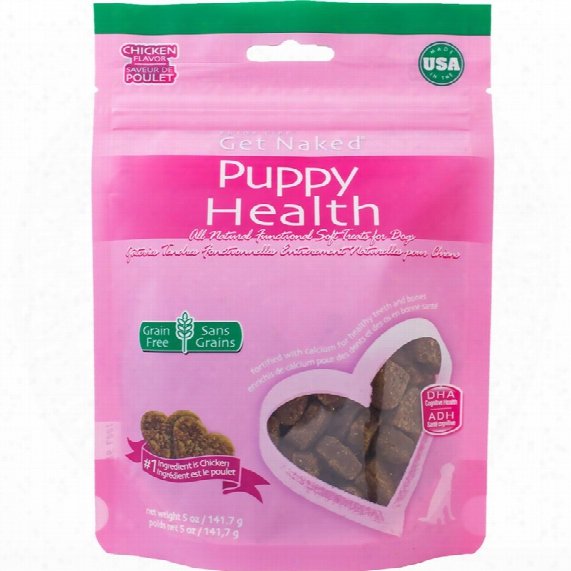 Get Naked Puppy Health Soft Treats For Dogs (5 Oz)