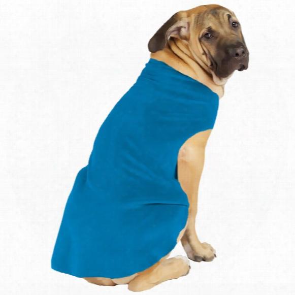 Gold Paw Stretch Fleece - Blue (size 10)