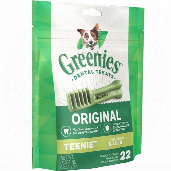 Greenies Smart Treats For Dogs - Teenie 22 Bones