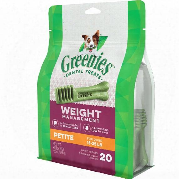 Greenies Weight Management - Petite (20 Bones) 12oz