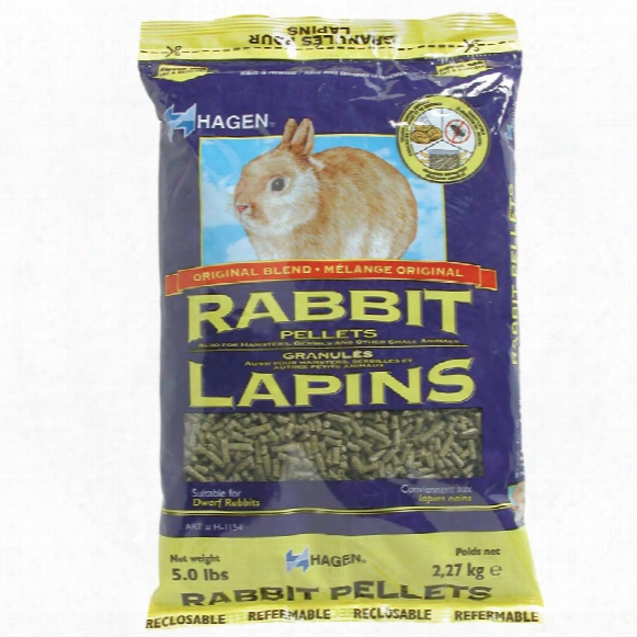Hagen Rabbit Pellets (5 Lb)