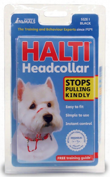 Halti Headcollar Size 1 - Black