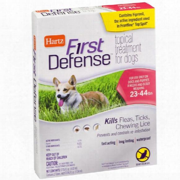 Hartz First Defense Flea & Tick For Dogs - 23-44 Lbs