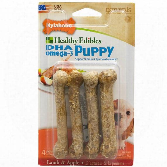 Healthy Edibles Puppy - Lamb & Apple Flavor Petite (4 Ct)