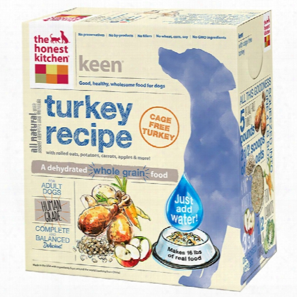 Honest Kitchen Keen Dehydrated Turkey Dog Food (10 Lbs)