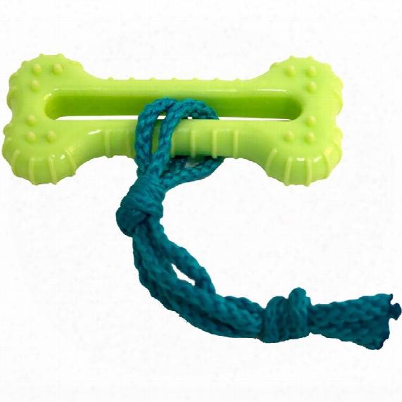 Hyper Pet Lil' Barks Rope Bone Chew Toy
