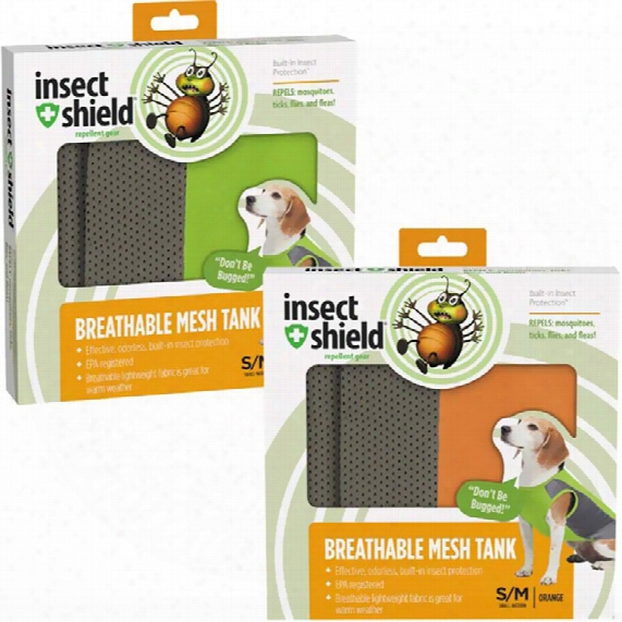 Insect Shield Breathable Mesh Tank Large - Green