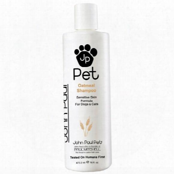 John Paul Pet Oatmeal Shampoo (16 Oz)