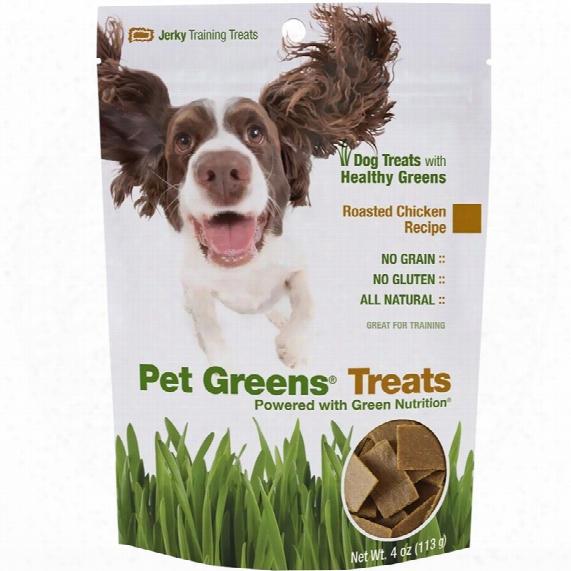Pet Greens Jerky Dog Treats Roasted Chicken (4 Oz)