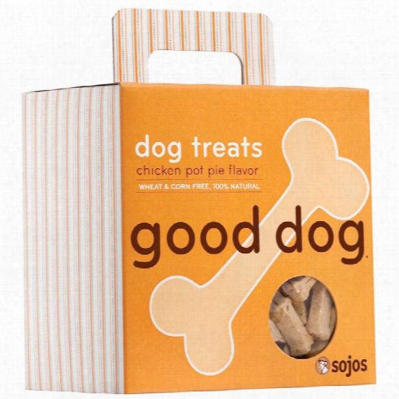 Sojos Good Dog: Dog Treats - Chicken Pot Pie (8 Oz)