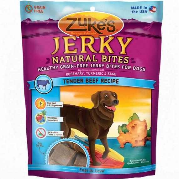 Zuke's Jerky Naturals Formula Treats - Beef (6 Oz)