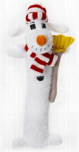 "12"" Snowman Loofa - White"