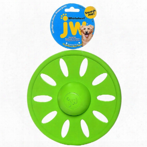 Jw Pet Whirl Wheel Flying Disk Dog Toy - Large (assorted)