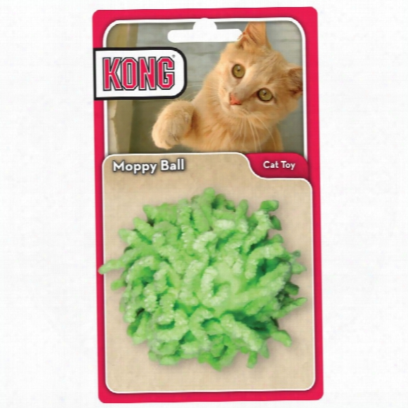Kong Active - Moppy Ball Cat Toy (assorted)