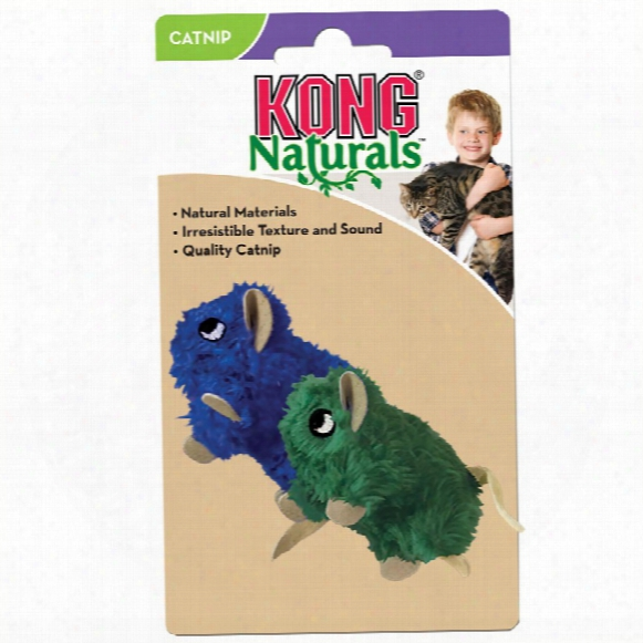 Kong Cat Naturals Natural Mice Teaser