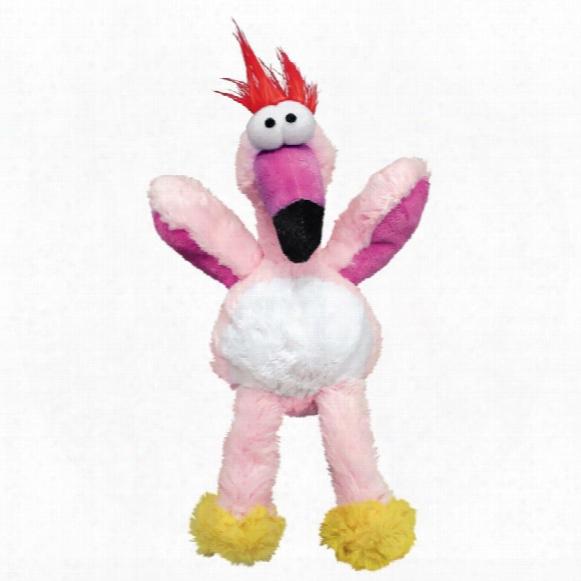 Kong Wild Knots Flamingo Dog Toy - Medium/large