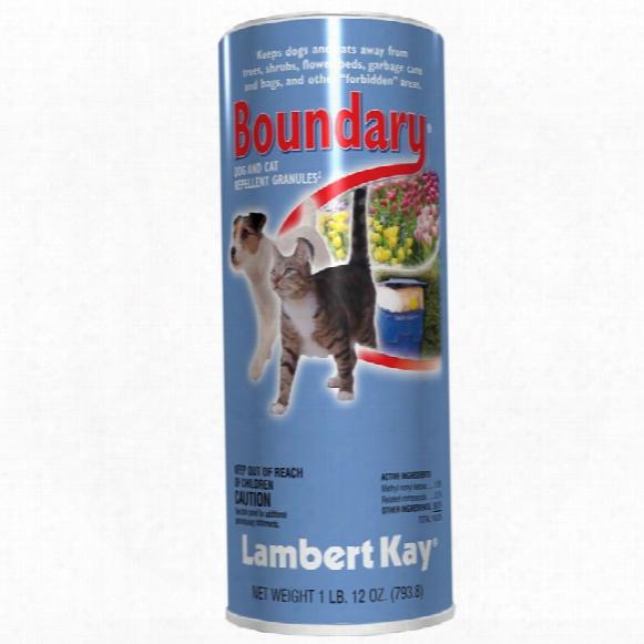 Lambert Kay Boundary Dog And Cat Repellent Granules Shaker Can (1 Lb)