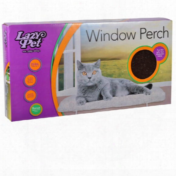 Lazy Pet Deluxe Window Perch - Assorted