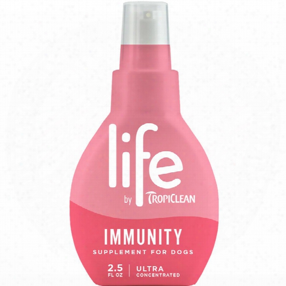 Life By Tropiclean Immunity Supplement For Dogs (2.5 Fl Oz)