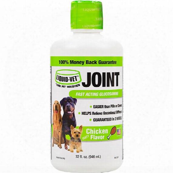 Liquid-vet Joint Advanced For Dogs - Chicken Flavor (32 Fl Oz)