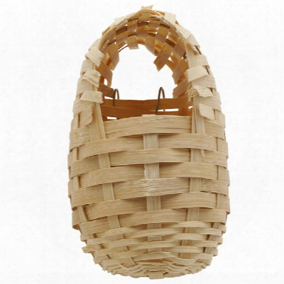 "Living World Bamboo Finch Nest (7"" X 3.9"")"
