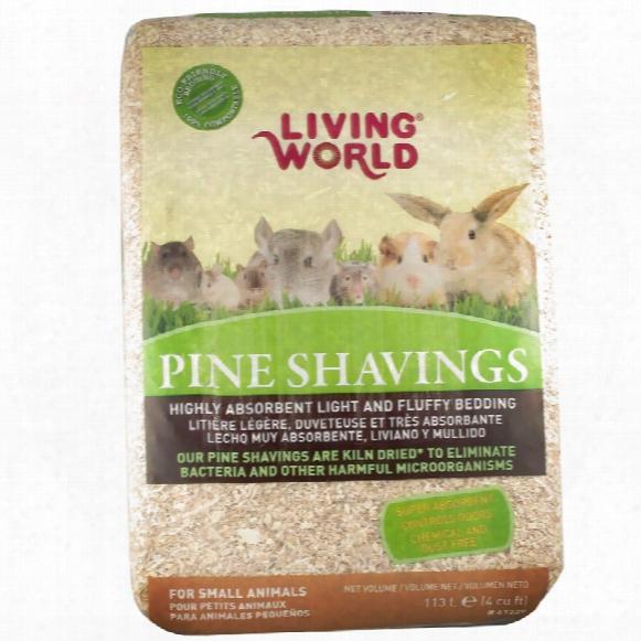 Living World Pine Shavings (4 Cu Inch)