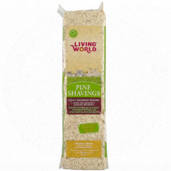 Living World Pine Shavings (600 Cu Inch)