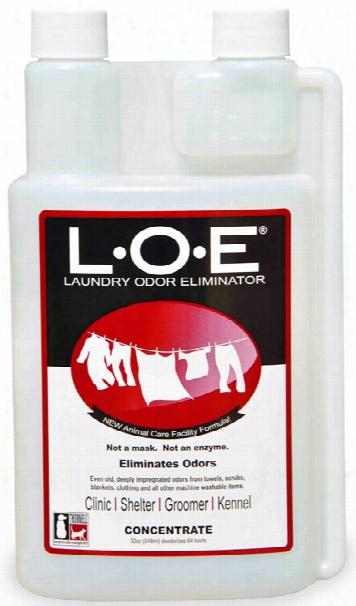 Loe Laundry Odor Eliminator Concentrate (32 Oz)