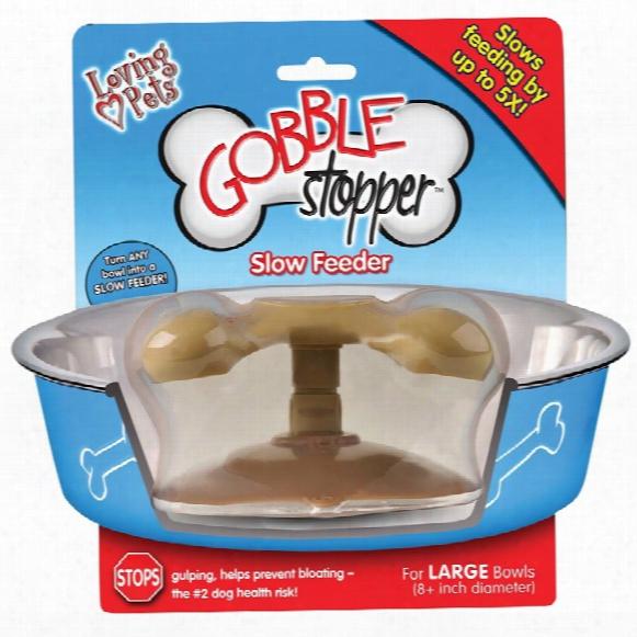 Loving Pets Gobble Stopper Slow Feeder - Large