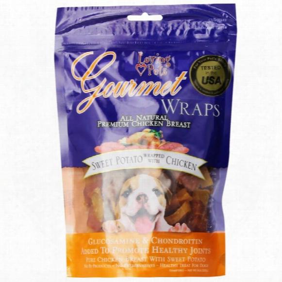 Loving Pets Sweet Potato & Chicken Wrap (8 Oz)