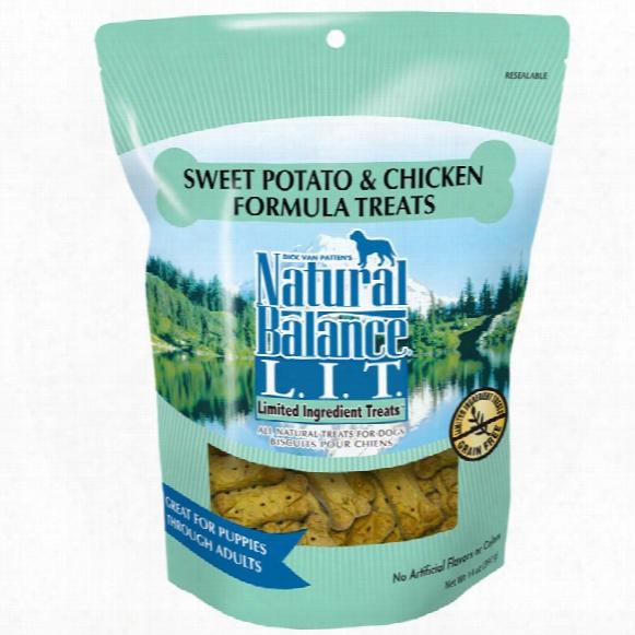 Naturaal Balance Limited Ingredient Treats - Sweet Potato & Chicken (14 Oz)