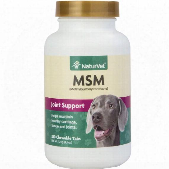 Naturvet Msm Methylsulfonylmethane (250 Tabs)