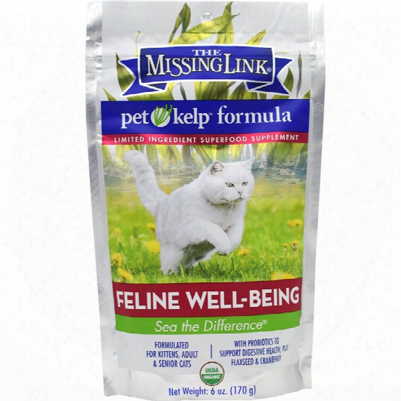 The Missing Link - Pet Kelp Formula Feline Well-being (6 Oz)
