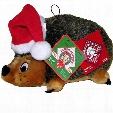 Kyjen Holiday Hedgehog with Santa Hat - Large