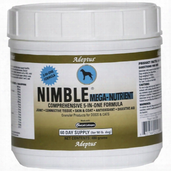 Adeptus Nimble Mega Nutrient For Pets (480 Gram)